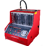 Photo of red launch CNC602 injector cleaner and tester